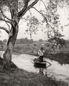 A Suffolk Dike, Circa 1887