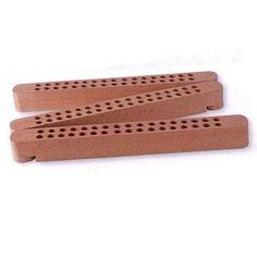 Stifte- u. Pinselhalter aus Holz