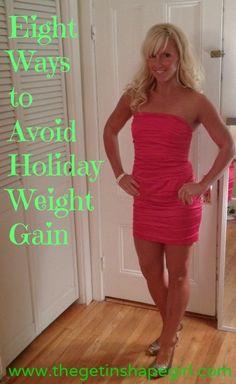 no holiday weight gain
