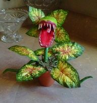 paper mache man eating plant - Google Search