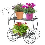 CobraCo Two Tiered Garden Cart  FC100 - http://howtomakeastorageshed.com/articles/cobraco-two-tiered-garden-cart-fc100/