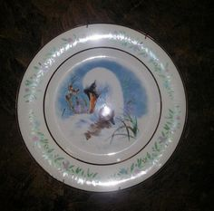Avon Gentle Moment Snow Swan and Baby Collector Plate by RosiesHut, $15.00