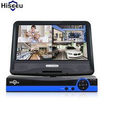 """CCTV 4ch 8CH 1080N Digital Video Recorder with 10.1"""" LCD Screen Hybrid AHD CVI TVI NVR Home Security System hiseeu  Price: 131.99 & FREE Shipping #computers #shopping #electronics #home #garden #LED #mobiles #rc #security #toys #bargain #coolstuff  #headphones #bluetooth #gifts #xmas #happybirthday #fun Sierra Leone, Seychelles, Ghana, Port Forwarding, Monitor, Display Lcd, Digital Video Recorder, Thailand, Disco Duro"""