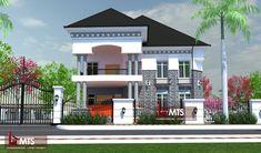1 new message House Plans Mansion, Duplex House Plans, Best House Plans, Bungalow House Design, Modern House Design, Beautiful House Plans, Architectural House Plans, Build Your Own House, Bedroom Floor Plans