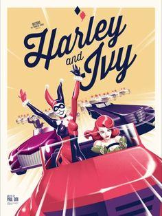 "the-catwoman: ""Batman: The Animated Series by Phantom City Creative "" DC Comics Bruce Timm, Joker Y Harley Quinn, Gotham Girls, Marvel Girls, Comics Girls, Batman The Animated Series, Batman Universe, Dc Universe, Dc Memes"