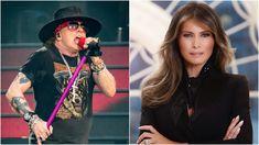 "Axl Rose Calls Melania Trump ""Alleged Former Hooker"" in Twitter Rant   Revolver Axl Rose, Revolver, Culture, Twitter, Lady, Hair Styles, Beauty, Hair Plait Styles, Hair Makeup"