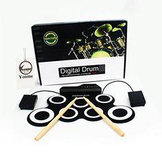Yoome Electronic Roll Up Kit de batería MIDI, pedales, ba... https://www.amazon.es/dp/B077P6N7B9/ref=cm_sw_r_pi_dp_U_x_E1BrBb4RGPYAC