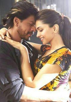Shah Rukh Khan and Deepika Padukone - Manwa Laage song video - HNY (2014)