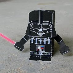 Toy-A-Day: star wars papercraft printout