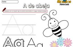 Letra A a