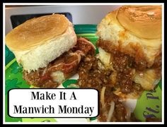 Make it a Manwich Monday #ManwichMonday #ad