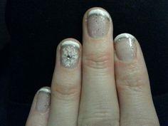 Christmas nails done at be beautiful