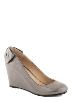 Bridesmaid Shoes - Bonafide Brilliance Wedge, #ModCloth
