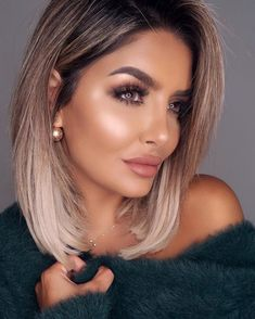 color for this year ! Hair color for this year ! -Hair color for this year ! Hair color for this year ! - Hair And Makeup Naturally Pretty Brunette Hair, Blonde Hair, Medium Hair Styles, Curly Hair Styles, Hair Medium, Pinterest Hair, Ombre Hair Color, Hair Color 2018, Pretty Hair Color