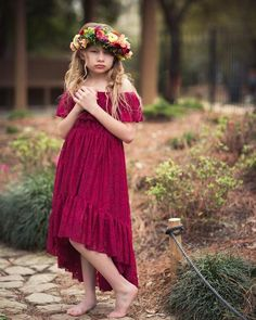 Items similar to Burgundy Red Flower Girl Lace Dress, Boho High Low Lace Dress for Girls Toddlers, Bohemian Junior Bridesmaid Dress, Hi Low Dress, Calista on Etsy Bohemian Flower Girl Dress, Red Flower Girl, High Low Lace Dress, Hi Low Dresses, Lace Burgundy Dress, Dress Lace, Deep Burgundy, Burgundy Color, Dress Red