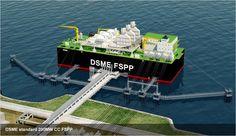 DSME standard 200MW CC FSPP