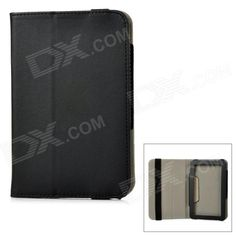 """Universal PU Leather Protection Case Cover for 7"""" Tablet PC - Black Price: $7.09"""