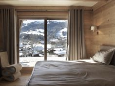 Chalet room with a view.