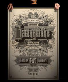 Basingstoke Typeface Poster