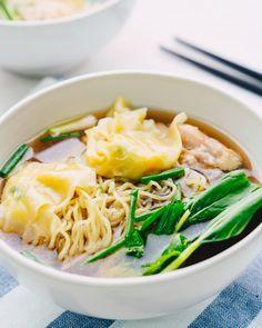 Wonton Chicken Noodle Soup