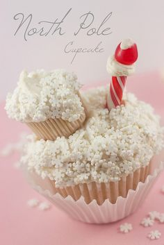 North Pole Cupcake