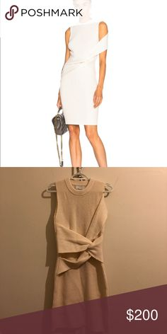 Phillip Lim white sweater dress Phillip Lim white sweater dress with twist detail 3.1 Phillip Lim Dresses Mini