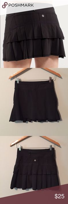 Selling this Lululemon Pace Setter Skirt on Poshmark! My username is: lnation818. #shopmycloset #poshmark #fashion #shopping #style #forsale #lululemon athletica #Dresses & Skirts