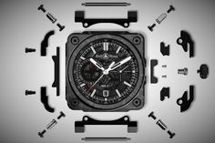Bell & Ross BR-X1 Carbon Forgé - Men's Gear