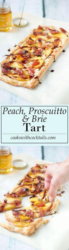 Peach, Proscuitto &