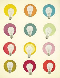 Poster | BRIGHT IDEAS von Cassia Beck | more posters at http://moreposter.de