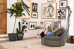 Barwick Swivel Chair | Shop Anthropologie Home