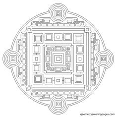 sacred from geometrycoloringpagescom adult coloringcoloring bookscoloring - Sacred Geometry Coloring Book