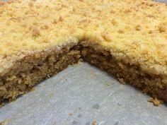 Liian hyvää: Banaani-murupiirakkaa pellillinen Sweet Pie, Banana Bread, Cake Recipes, Cheesecake, Food And Drink, Cooking Recipes, Sweets, Snacks, Dishes