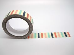 Sweet Stripes Paper Tape 10 yards Vertical by LouTinenEvents