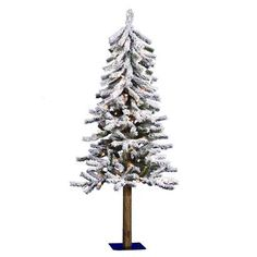 4' Pre-Lit White Flocked Alpine Tree - Clear Lights. Find artificial flowers and christmas trees at Target.com! 4' pre-lit white flocked alpine tree - clear lights. Price: $74.99