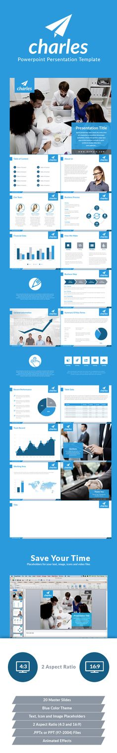 Charles Powerpoint Presentation Template (PowerPoint Templates)