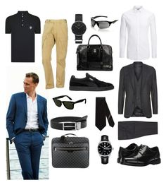 """Manage me, please...."" by dtlpinn on Polyvore featuring Paul Smith, Joseph, Louis Vuitton, Rockport, Gucci, TAG Heuer, Versus, Daniel Wellington, MANGO and Spyder"