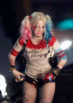 Cosplay Wish List - Suicide Squad Harley Quinn. LEG TATTOOS: Left Leg - HA HA…