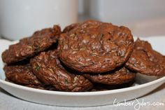 Ideal Protein Chocolate Zucchini Cookies Recipe