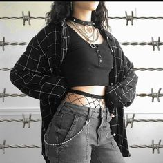Swaggy Outfits, Edgy Outfits, Mode Outfits, Retro Outfits, Grunge Outfits, Cute Casual Outfits, Egirl Fashion, Tomboy Fashion, Grunge Fashion