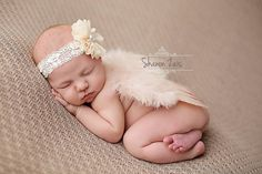 Blush Pink Feather Angel Wings Newborn Baby Photo Prop | Beautiful Photo Props