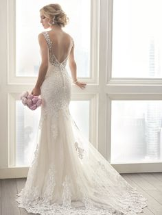 @Bellethemagazine wedding dresses | Christina Wu Brides 2017 | Floor Ivory A-Line V-Neck $ ($1,000 or less)