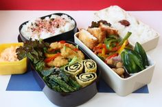 Japanese Bento Lunch Box お弁当 鶏胸肉編 - YouTube