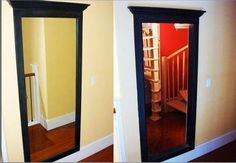 Home Channel TV: Secret Passageways to Hidden Rooms Hidden Spaces, Hidden Rooms, Secret Space, Secret Rooms, Secret Secret, Home Renovation, Home Remodeling, Hidden Passageways, Home Channel