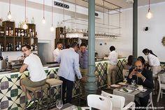 Bacira (Madrid). Restaurante de cocina moderna y cosmopolita en Chamberí, cerca de Olavide que está todos los días lleno. Fusión de cocinas nikkei y española, buen trato y platos que siempre sorprenden