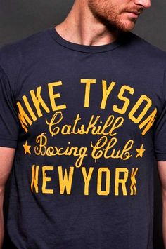 Kid Dynamite catskill boxing club early 80's, 100% premium cotton T. Vintage dyed & washed for super soft hand, look & feel with specialty crackle prints and trunk inspired sleeve badge.