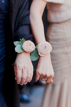 Pin for Later: Wedding Ceremony Details No Bride Should Overlook Corsages Corsages are a lovely touch for special family members. Photo by Mademoiselle Fiona Wedding Photography via Style Me Pretty Floral Wedding, Wedding Bouquets, Wedding Flowers, Wedding Corsages, Diy Wedding, Wedding Ceremony, Wedding Ideas, Ranunculus Wedding, White Ranunculus
