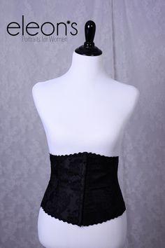 Eleon's Style Closet - Eleon's Portraits for Women - Roseville, CA Black brocade 1/2 corset - small/medium