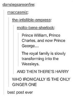 BEST POST EVER UNTIL I REALISED : THERE'S NO FRED