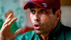 El líder opositor Henrique Capriles
